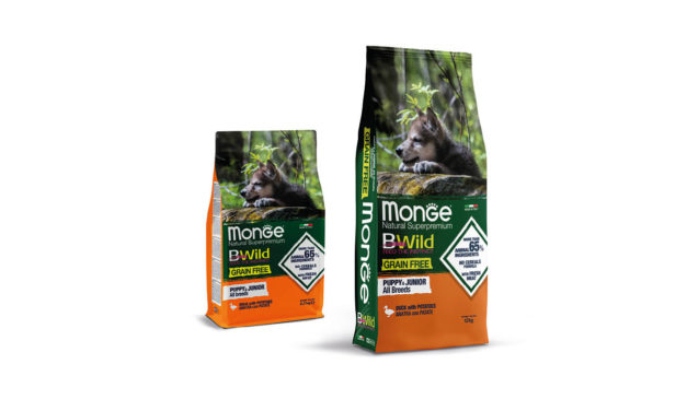 Monge Bwild grain free puppy kaczka zziemniakami