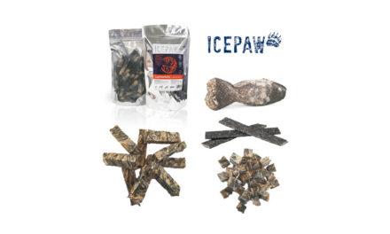 ICEPAW – przysmaki igryzaki zsuszonych skór ryb