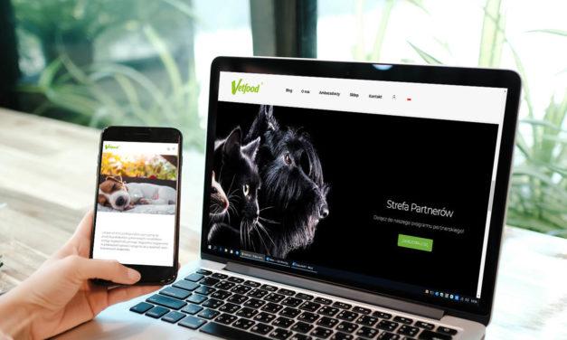 Odwiedź nową stronę internetową marki Vetfood!