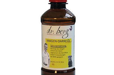"""DR.BERG """"Żołądek i jelita"""" – mieszanka olejów z olejem konopnym"""