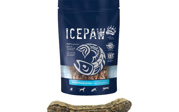 ICEPAW Welpenkauknochen – naturalne gryzaki zsuszonych skór dla szczeniąt