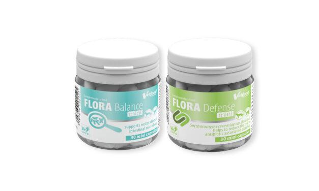 Produkty w minikapsułkach dla małych ras i szczeniaków – Flora Balance Mini & Flora Defense Mini